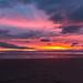 Crosby Beach sunset by Wizmatt