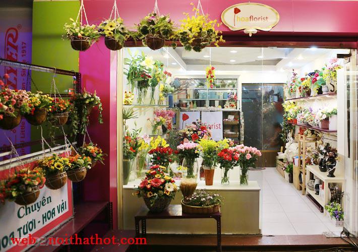 thiết kế cửa hàng hoa tươi đẳng cấp