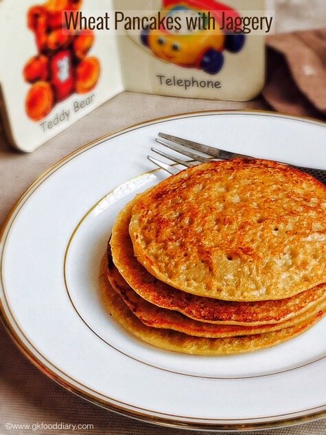 Wheat Pancakes for Babies4