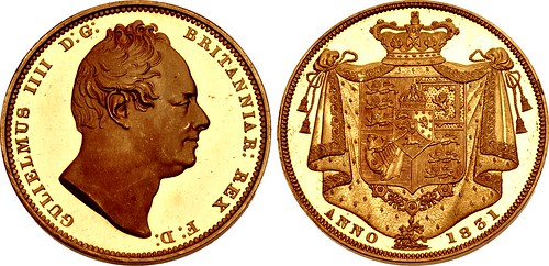Lot 2324 HANOVER. William IV Two Pounds