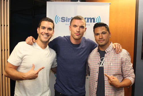 Ed Skrein on The Covino & Rich Show
