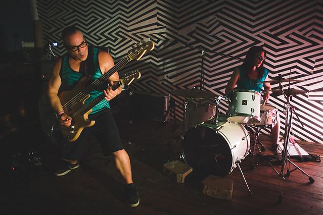 Big Al Band at The Sweatshop | 9.4.15 | Benson Femme Fest
