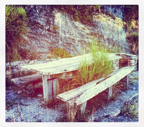 #ceraunavolta un #tavolo da #picnic