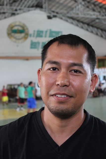 Baskeball player and local Baybay City resident Romulo Munez Jr