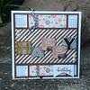 Hybrid Birthday Card Wood Blocks by Scrappycath