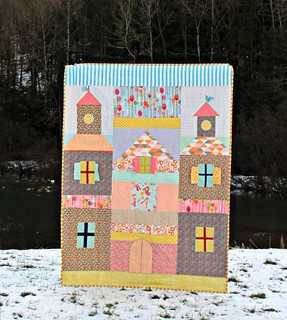 A Princess Castle Quilt