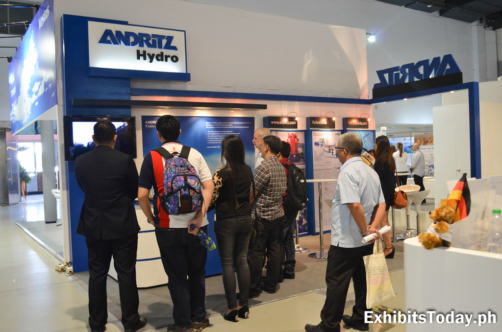 Andritz Hydro Exhibit Booth
