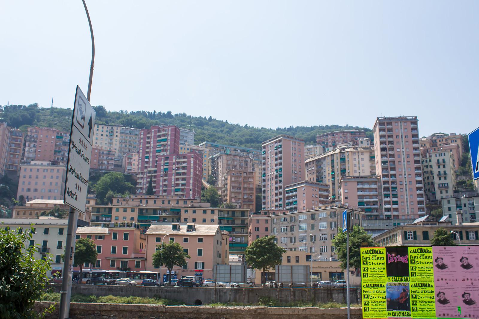 Генуя - Город на холмах