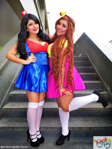 cosplayers peruanas dash cosplay