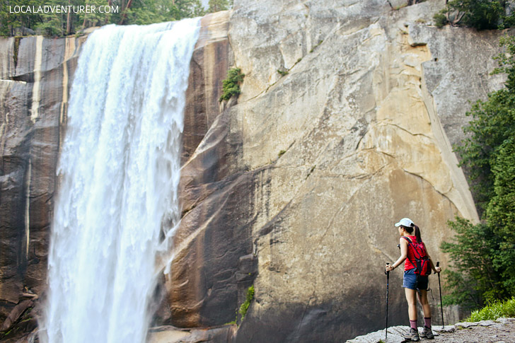 Vernal Falls + 15 Breathtaking Things to Do in Yosemite National Park.