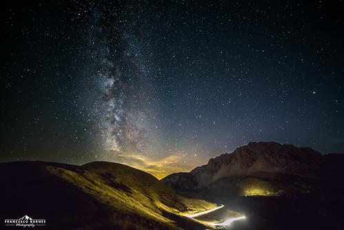 Milky way at Terminillo
