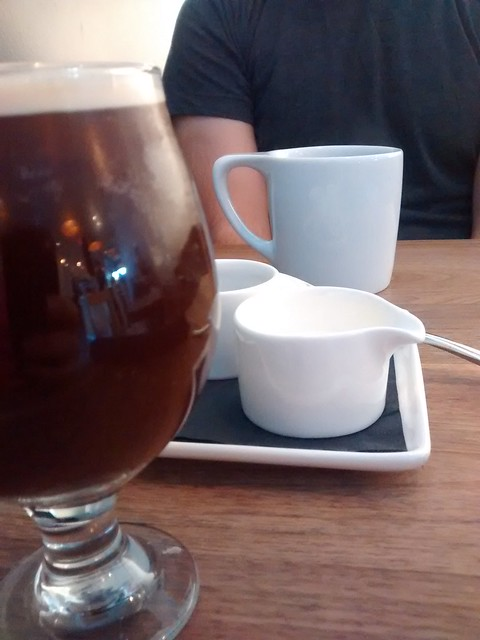 Nitro cold brew and six one six filter at Slipstream DC.