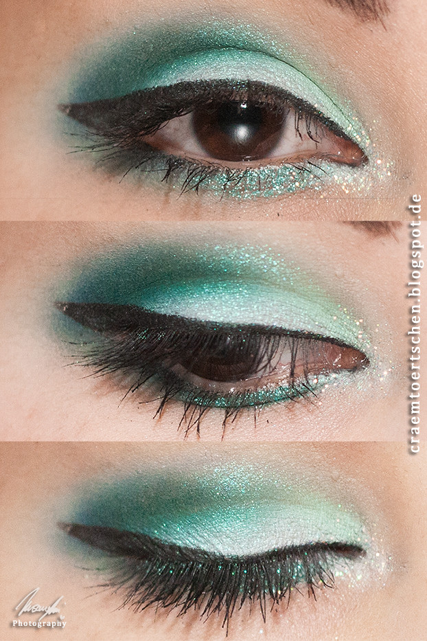 Evanescence fan-shirt inspired makeup