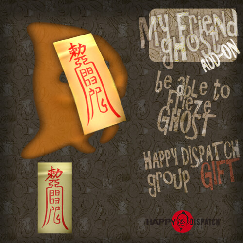hd MY friend ghost addon gift