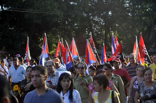 Aniversario 56 de la desaparición de Camilo