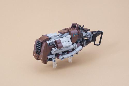 Unkar's Rat Speeder