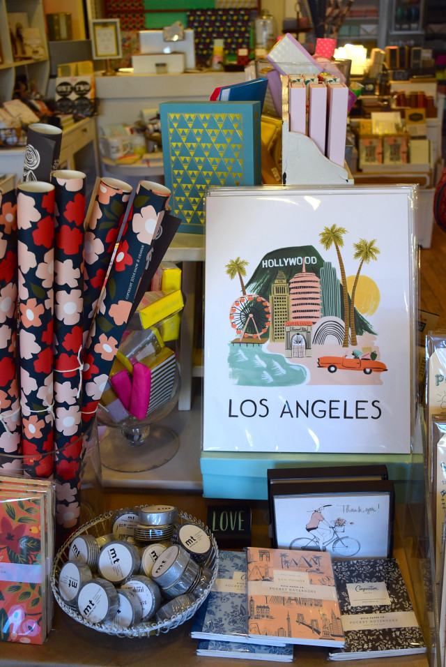 L.A. Display at Urbanic Paper Boutique, Los Angeles | www.rachelphipps.com @rachelphipps