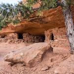 Granaries at Aztec Butte, Canyonlands