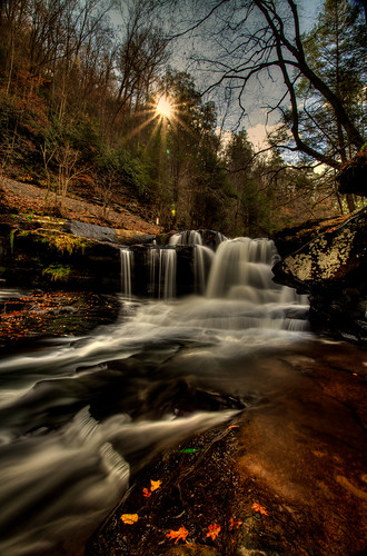 Dunloup Creek Falls.......