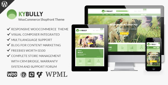 Themeforest Kybully v2.0 – Responsive WooCommerce Shopfront Theme