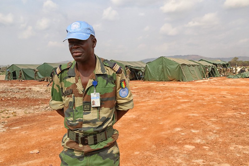 Arrival of the Senegalese QRF