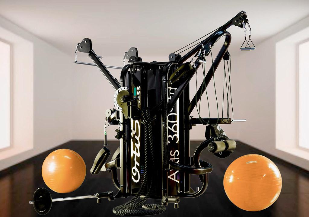 Fabricante de m quinas para gimnasios axis orange nat por for Maquinas para gym