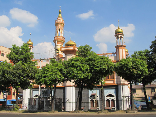 Yangon dans toute sa diversité: une mosquée