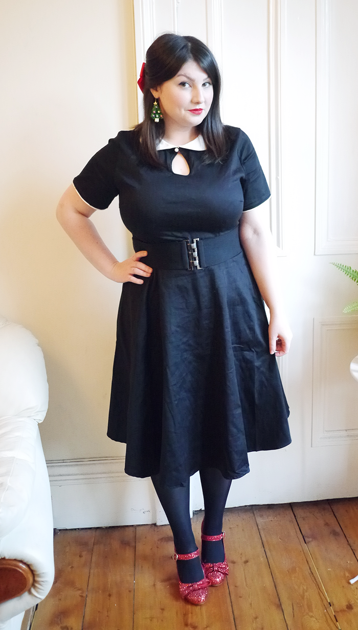 dolly and dotty vintage dress outfit 3