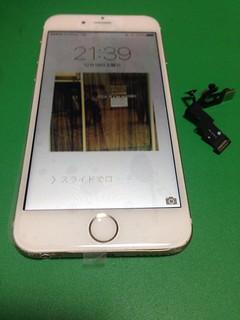9_iPhone6のフロントパネル ・近接センサーケーブル交換