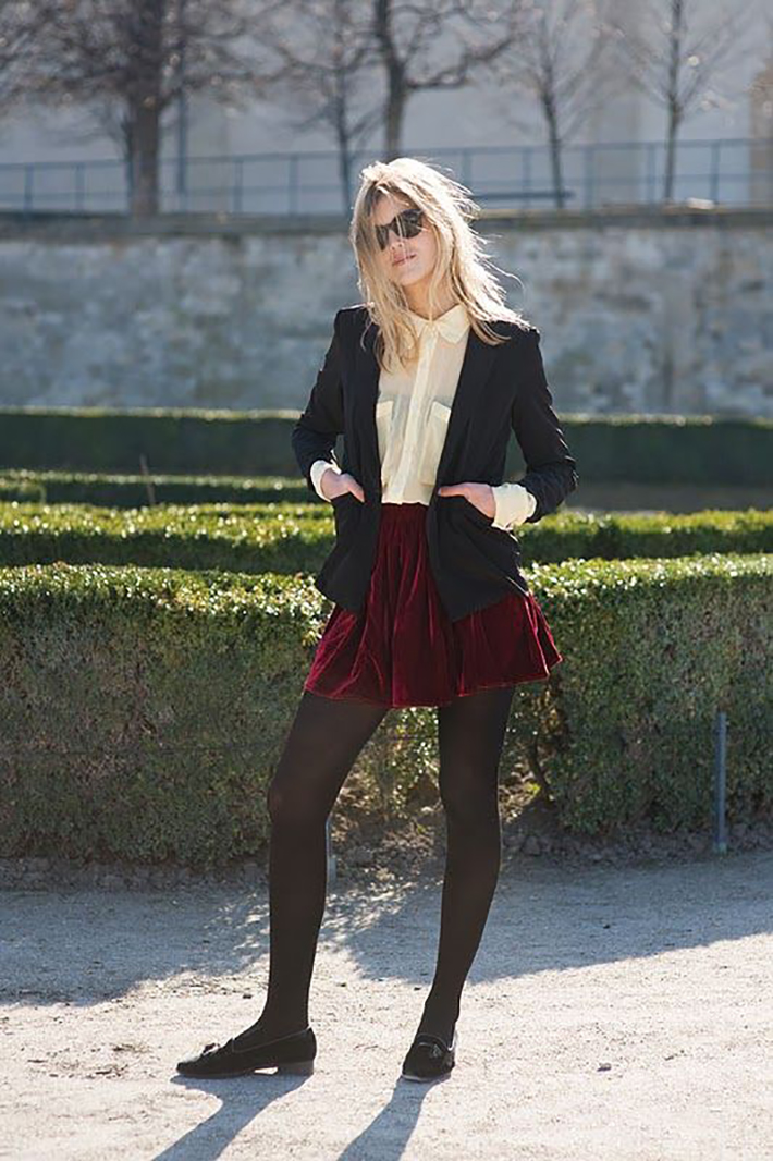 how to wear velvet streetstyle inspiration outfits9
