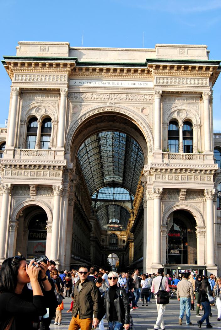 Galerias Vittorio Emanuele ll, Milano (01)