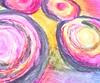 Oil Pastel Circles
