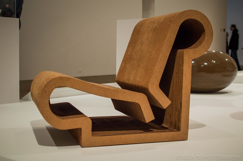 Dallas Museum of Art - Easy Edges Chair
