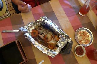 Ilocos Norte - Papa Pau's Diner steamed tilapia