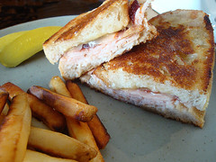 Turkey, Cranberry and Monterey Jack Cheese Sandwic…
