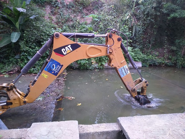 Realizan trabajos de mantenimiento en planta de agua potable de Convento