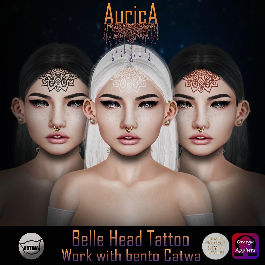 .:AS:. Belle Head Tattoo - SecondLifeHub.com