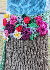 Yarn-bombed with Flowers