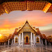 Wat Benchamabopitr Dusitvanaram by anekphoto