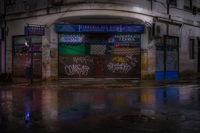 The wet bookstore