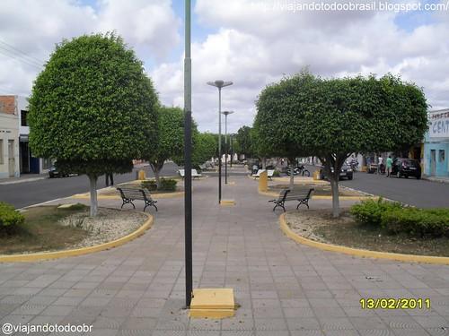 Craíbas - Praça Manoel Nunes