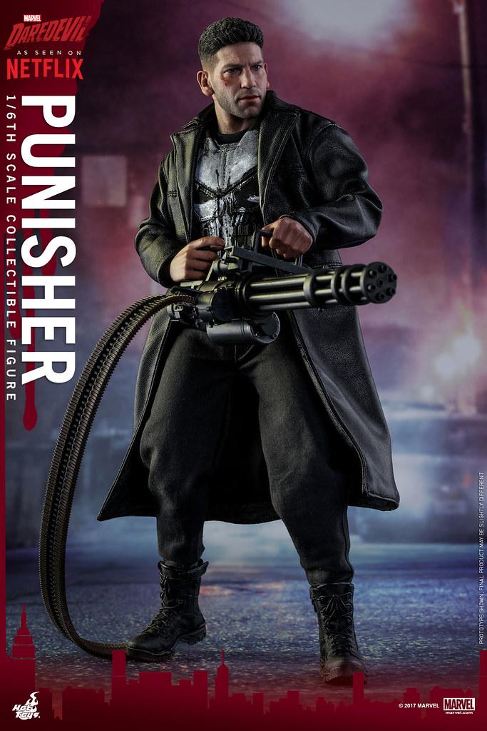 Hot Toys – TMS004 – 漫威夜魔俠【制裁者:法蘭克.卡索】Punisher 1/6 比例人偶作品