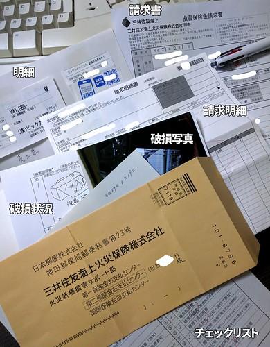 ショッピング保険の申請と必要書類