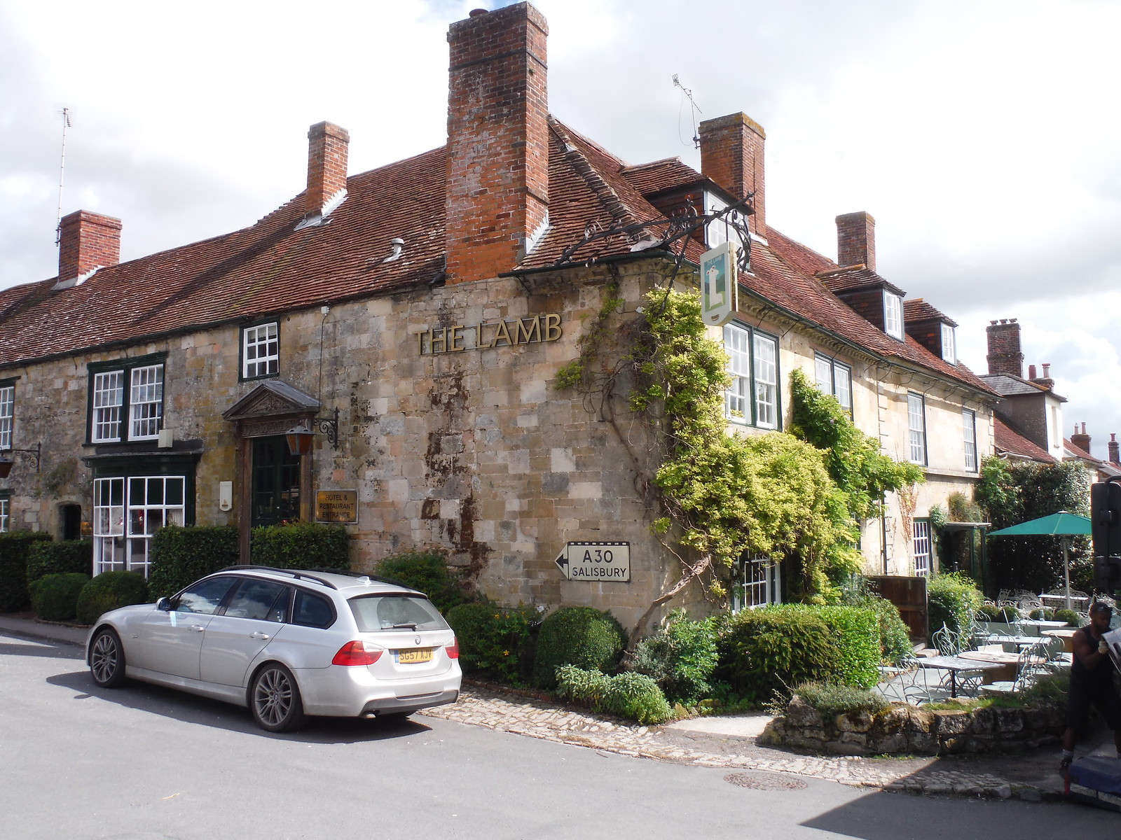 The Lamb Inn, Hindon SWC Walk 248 Tisbury Circular via Hindon