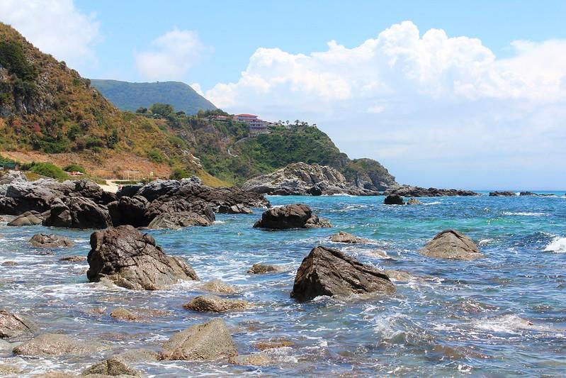 Rocks at Grotticelle Beach