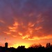 Apocalyptic sunset by Davoski