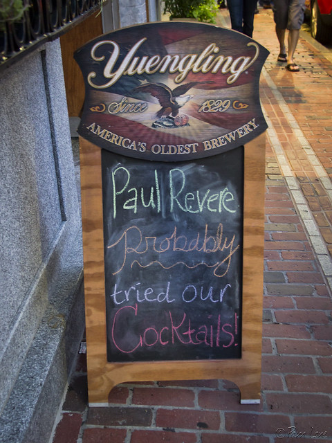 Paul Revere drank here