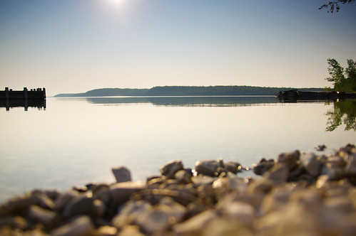 morning blue sky lake canada water landscape see stones natur manitoulinisland kanada sandfield lakemanitou sigma1770 sigma1770mm karstenhansen pentaxk3 hutchinsonscabins