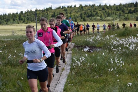 Juniorská běžecká reprezentace trénovala na mezinárodním kempu v Norsku