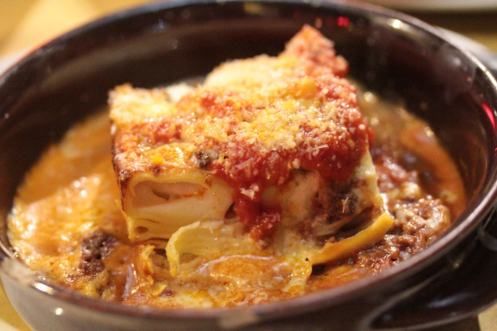 Italian Lasagna Nighttime Florence Italy 2015 Europe Trip August 13, 2015 157